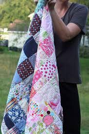 Scrap Color Baby Quilt Tutorial | Quilts, Quilt tutorials, Baby quilt  tutorials
