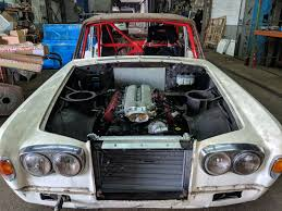 1977 Rolls Royce Silver Shadow With A Srt 10 V10 Engine Swap Depot