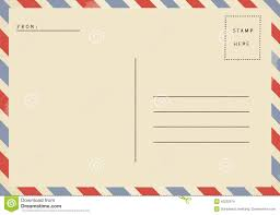 Free Blank Postcard Template For Word 8 Professional Templates