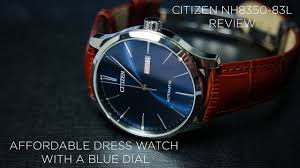 citizen nh8350 83l review best dress watch with a blue dial under 200 you