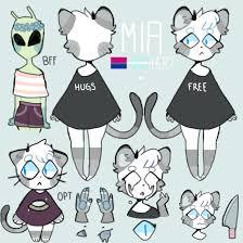 Fursona Design Ideas Mia Fursona By Ner0ku Furry Drawing Character Design
