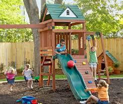 Kids' Backyard Play Area traditional-kids