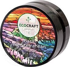 Купить <b>Скраб для</b> лица <b>Ecocraft</b> Базилик средиземноморский ...