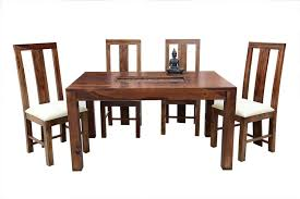 6 seater amusable recto carving dining table with scripto long white upholstery chair