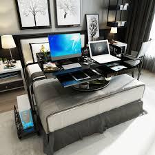 office desk workstation. Multifunctional Bedside Mobile Computer Desk Office PC Laptop Table  Workstation Study Writing For Home Office Desk Workstation