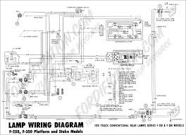 ford truck technical drawings and schematics section h wiring Chevy 3500 Wiring Diagram For Tail Lights 1970 f 250, f 350 platform stake rear lamp wiring 01 Chevy Tail Light Wiring Colors