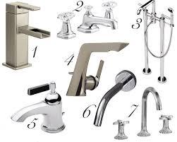 sleek bathroom faucets