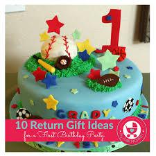 return gift ideas for 1st birthday 10 novel return gift ideas for a first birthday party