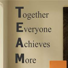 Definition Of Team Vinyl Wall Lettering Motivate Employees Decal