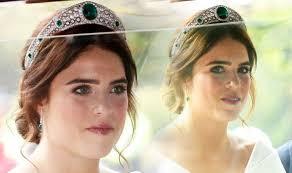 Princess Eugenie <b>wedding tiara</b> is the Greville Emerald tiara: Who ...