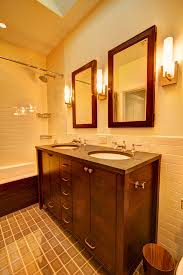 traditional bathroom lighting ideas white free standin. Vanity Lights Bathroom Traditional With Mirror Craftsman Warm Mirrors Pertaining To 8 Lighting Ideas White Free Standin