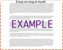 essay on song of myself research paper service essay on song of myself