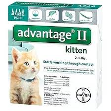 Advantage Ii Dosage Chart For Cats Advantage Ii For Cats Image 2 Vs Frontline Tinh Online