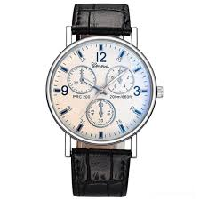 Fairwhale New Blue Sports <b>Quartz Watch Men</b> Leather Relogio ...