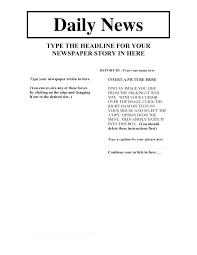 Newspaper Google Docs Template Newspaper Template Old Google Docs New York Times Templates
