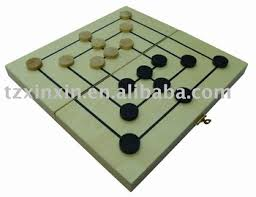 Making Wooden Games Wooden Board Games Nine Men's Morris Millwooden Checkers Buy 73