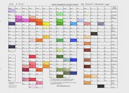 Copic Color Chart Gallery Of Chart 2019