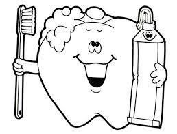 Small Picture Dental Coloring Pages For Preschool Trends Coloring Dental