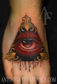 татуировка пирамида с глазом всевидящее око википедия узнайте