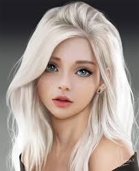Swan by lerinaV | Digital art girl, Woman face, Anime art girl