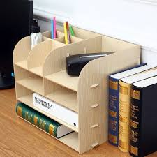 diy office desk accessories. DIY Office Organizer Wooden Desk Sets File Multifunctional Accessories Document Storage Box-in Set From Diy S
