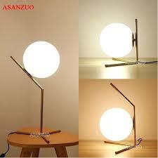 glass ball table lamp modern led table lamp desk lamp light shade glass ball table lamp