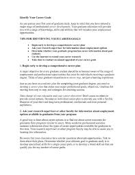 10 Employment Objectives Examples Proposal Sample