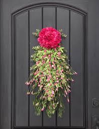 Backyards : Front Door Decor Decorating Ideas Door6 Spring ...