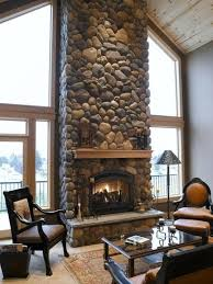 river rock fireplaces pictures | ... Dcor: Five Important Decisions in  Designing a