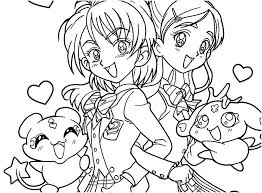 Chibi Anime Coloring Pages Free Printable Anime Coloring Pages For
