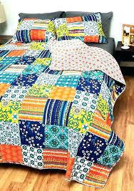 Queen Size Quilt Patterns Enchanting Queen Bed Patchwork Quilt Patterns Queen Size Patchwork Bed Quilt