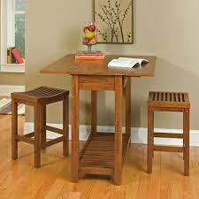 Kitchen Table Round Tables For Small Spaces Concrete Distressed