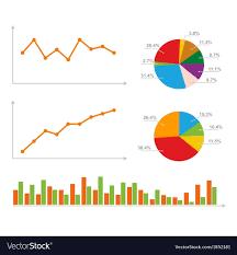 Charts Statistics And Pie Diagram