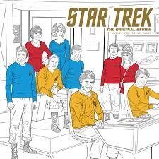 amazon star trek the original series coloring book 9781506702520 cbs books