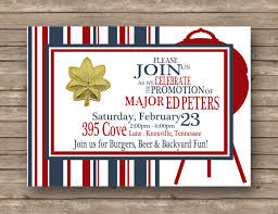 military farewell party invitation all branches available diy birthday military job promotion graduation retirement typography red white blue backyard cookout stripes invitation