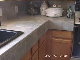 Kitchen Counter Marble Tiled Kitchen Countertops And Ideas Design Ideas And Decor