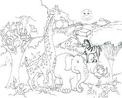 Baby Animals Coloring Pages To Print Of Cute For Adults Hard