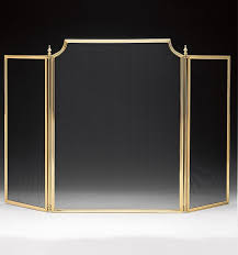 small and large lacquered solid cast brass fireplace screens this traditional fireplace screens are hand cast from solid brass