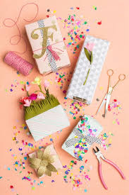 Small Picture 5 ways to gift wrap for spring Flats Gift wrapping and Spring