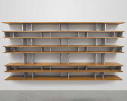 Wall Bookshelves Stylish Glamorous Wall Mounted Bookshelves Idea With Brown Wood