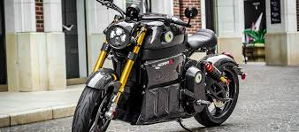lito sora motorcycle sitting on a brick paved street without anyone on it
