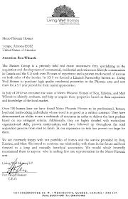Realtor Recommendation Letter Examples Magdalene Project Org