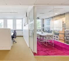 Non Residential: Fuschia Carpet - Modern Office