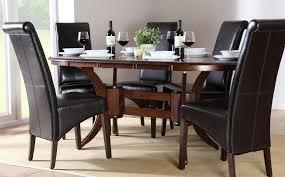 dark wood dining room sets dining room sets