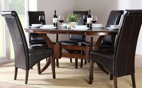 dark wood dining room sets dining room sets