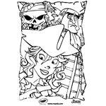 Small Picture Pirates of the Caribbean Free Coloring Pages crayolacom