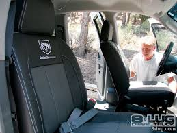 replacement upholstery kit installed 2006 dodge ram 2500 seats