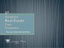 realtor flyers templates 27 gorgeous real estate flyer templates you can create fast and free
