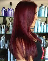 Dark Red Violet Hair Color Best