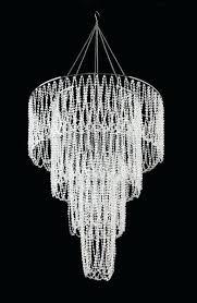 wonderful beaded crystal chandelier pottery barn dalila beaded crystal chandelier